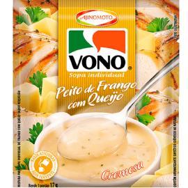 Sopa cremosa Vono sabor peito de frango com queijo 17g