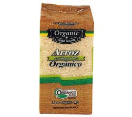 Arroz Organic orgânico agulhinha polido  1kg