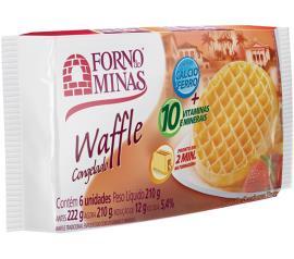 Waffle Forno de Minas tradicional congelado 210g
