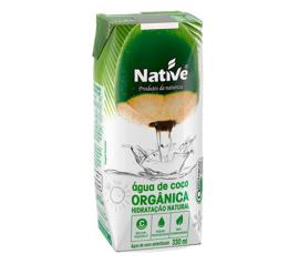 Água de coco Native  orgânica hidratação natural 330g
