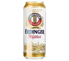 Cerveja Alemã Erdinger Weissbrau Weibbier lata 500ml
