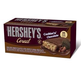 Barra Cereal  Hershey's Cookies Chocolate 66g