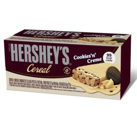 Barra de cereais Hershey's cookies creme 66g