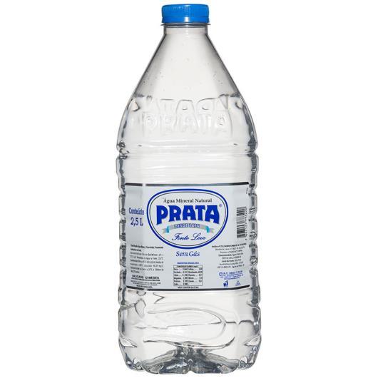 Água mineral Prata sem gás Leve 2,5L - Imagem em destaque
