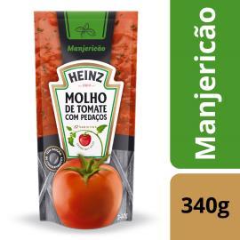 Molho de Tomate Heinz Manjericão 340g