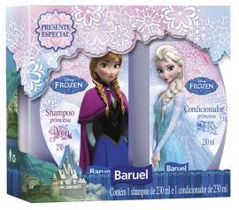 Kit Baruel Shampoo 230ml + Condicionador  230ml Disney Frozen