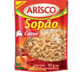 Sopão Arisco carne sachê 157g