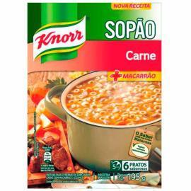 Sopão Knorr + macarrão carne sachê 200g