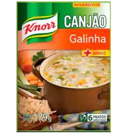 Canjão Knorr +arroz galinha sachê 200g
