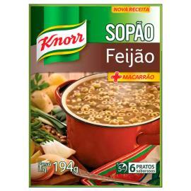 Sopão Knorr + macarrão e feijão sachê 194g