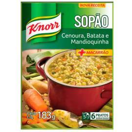 Sopão Knorr cenoura batata mandioquinha sachê 183g