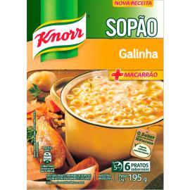 Sopão Knorr Galinha +Macarrão Sachê 195g