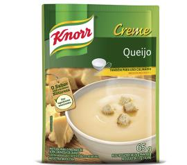 Creme Knorr sabor queijo sachê 65g