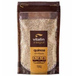 Quinoa em flocos Vitalin integral 120g