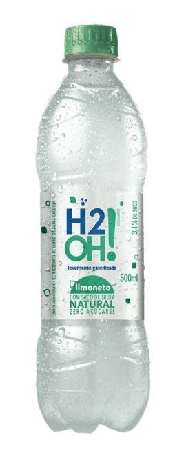 REFRIGERANTE H2OH LIMONETO 500 ML GARRAFA