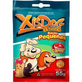 Alimentos para cães Xisdog bifinho raças pequenas sabor carne 55g
