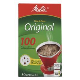 Filtro de Papel Melita Original 100 30UN