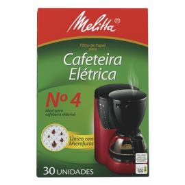 Filtro de Papel Cafeteira Elétrica N°4 Melitta 30UN