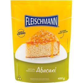 Mistura para bolo Fleischmann sabor abacaxi 450g