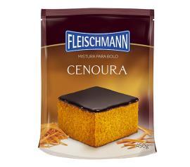 Mistura para bolo Fleischmann sabor cenoura 450g
