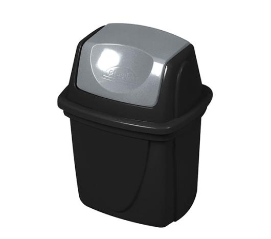 Lixeira Plasútil Basculante Ecoblack 6L - Imagem em destaque