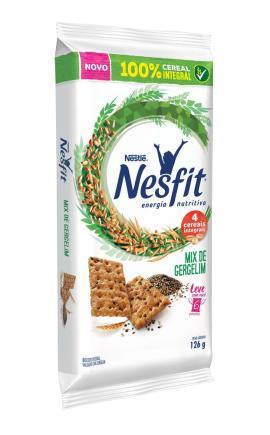 Biscoito NESFIT Mix de Gergelim 126g