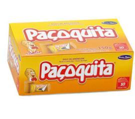 Doce de amendoim Santa Helena paçoquita 10 unidades 150g