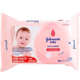 Toalha Umedecida Extra Cuidado Johnson's Baby Leve + Pague -  96 unids.