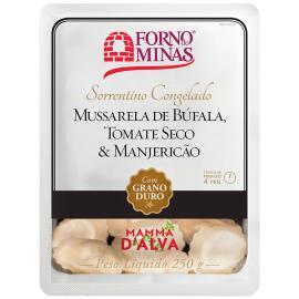 Sorrentino Mamma D'Alva Mussarela de búfala, Tomate seco e Manjericão Forno de Minas 250g
