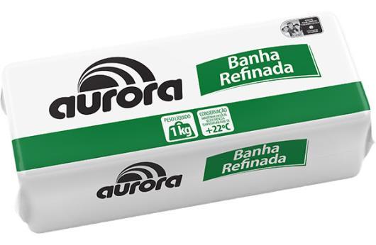 Banha Refinada Aurora 1kg - Imagem em destaque