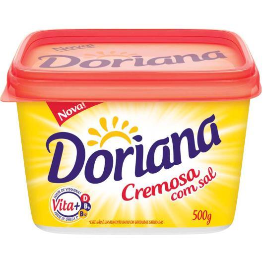Margarina cremosa com sal Doriana tradicional 500 g - Imagem em destaque