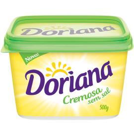 Margarina Doriana Cremosa sem Sal 500g