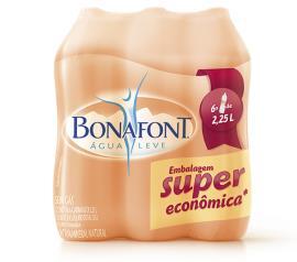 Água Mineral Bonafont Pack Economico 6uni X 2.250ML