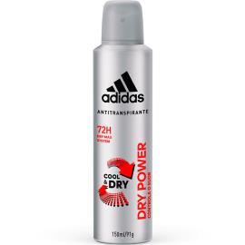 Desodorante Adidas Aerossol Dry Power 150ml