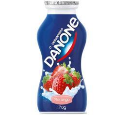 Iogurte Danone morango 170g