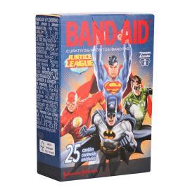 Curativo Band-Aid Liga da Justiça c/ 25 unids.