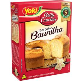 Mistura para bolo Betty Crocker baunilha 425g