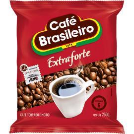 Café Brasileiro extraforte almofada 250g