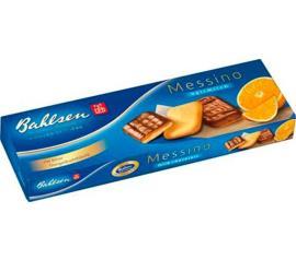 Biscoito Bahlsen Messino Laranja e Chocolate 100g