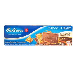 Biscoito Bahlsen Chocolate e Caramelo 135g