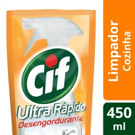 Refil Cif limpador Ultra rápido desengordurante 450ml