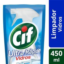 Vidros e Acrílicos CIF Ultra Rápido Original 450 ML