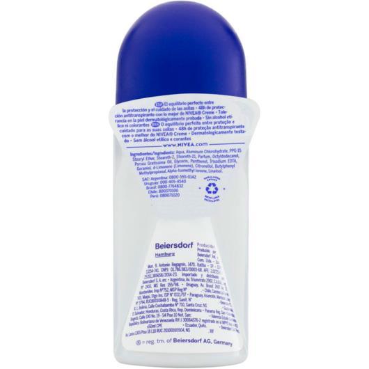 Desodorante Antitranspirante Roll On Nivea Protect & Care 50ml - Imagem em destaque