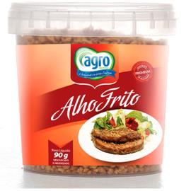 Alho Agro frito crocante 90g