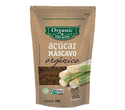 Açúcar Organic Mascavo Orgânico 500g - Imagem em destaque
