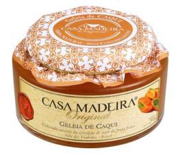 Geleia Casa Madeira Original Caqui 240g