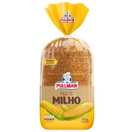 Pão Pullman Sabor Padaria Milho 450g