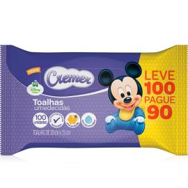 Toalha Umedecida Cremer Disney Leve 100 Pague 90