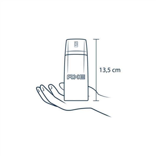 Desodorante Antitranspirante Aerosol AXE Black 150ml - Imagem em destaque