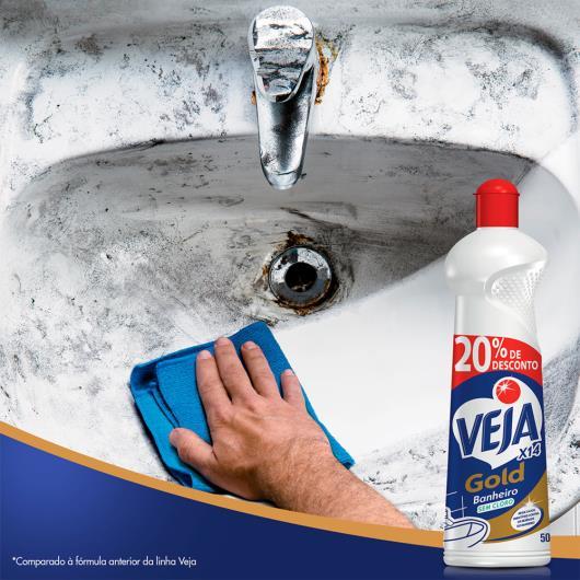 Limpador Veja banheiro sem cloro leve 500ml pague 400ml - Imagem em destaque